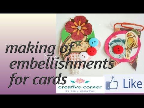 DIY embellishment | make your own embellishments using paper scraps
