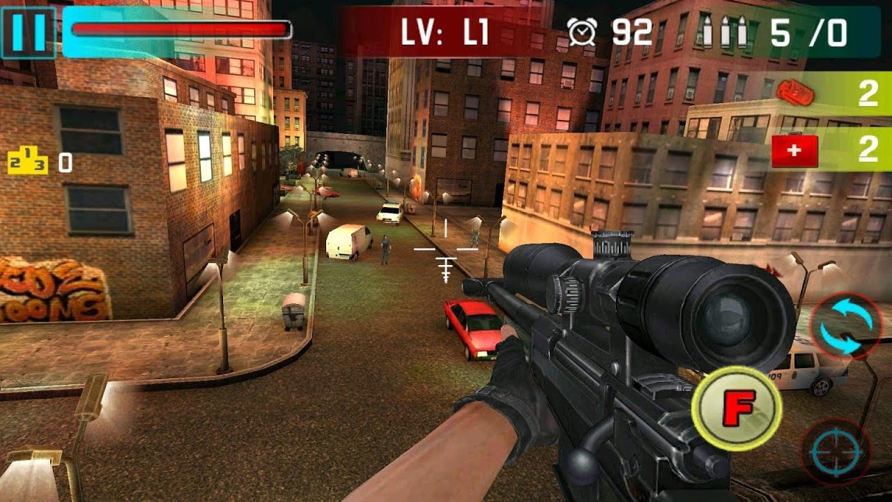 Sniper Shoot War 3D Android Game Full HD 1080p 2015 - YouTube