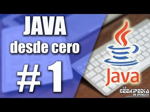 Curso Java desde cero  #1 | Introducción e instalación de JDK