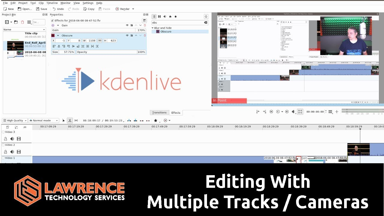 Video How To Do Multi Track / Camera Editing With Kdenlive 17