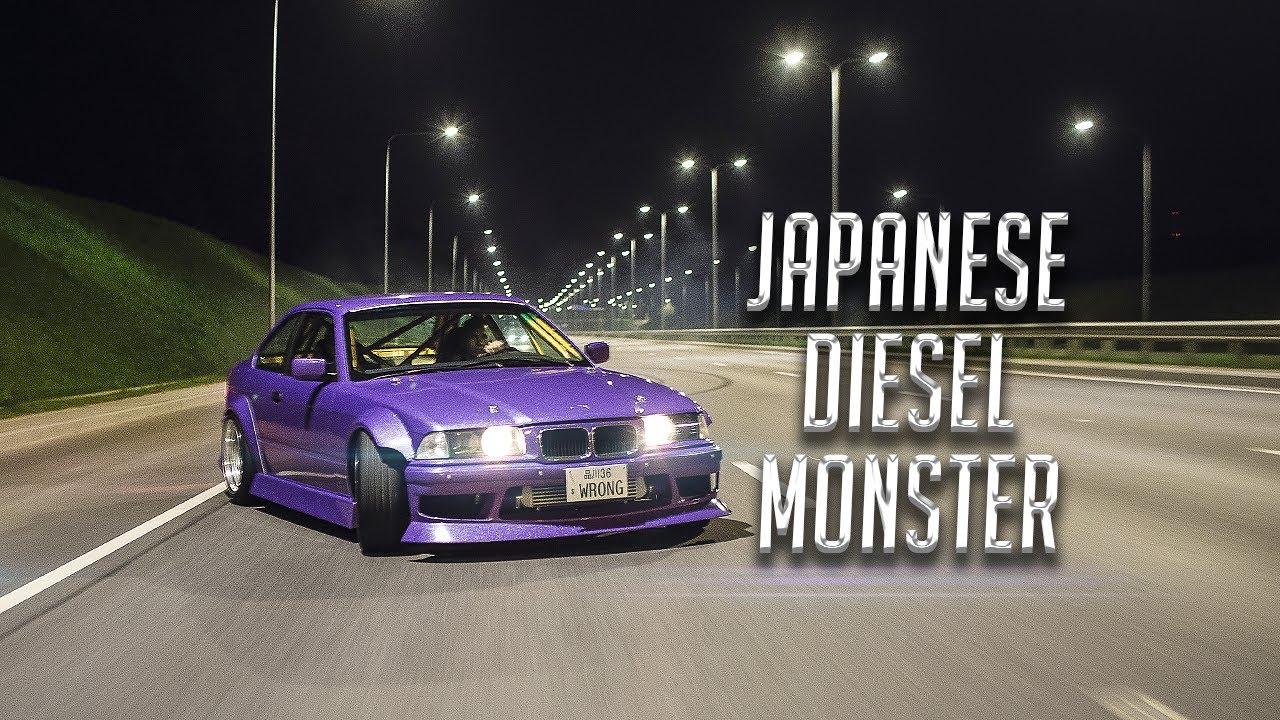 Wrong36 Diesel Street Drifting - E36 330d - YouTube