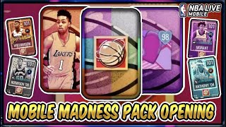 Mobile Madness Pack Opening NBA Live Mobile 20 S4 Madness Campus Hero & H'BREAKER Region Bundle