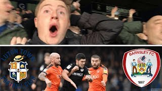 Luton Town 0 Barnsley 0   Should Have Had 3 Points!!   Matchday Vlog#31