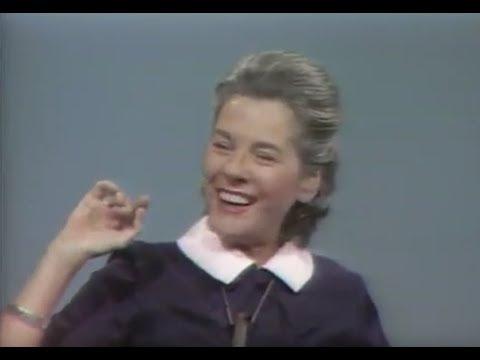 Mary McCarthy (w/William F. Buckley, Jr.)