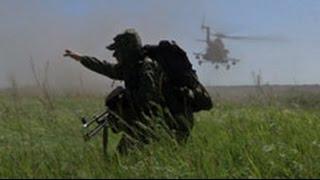 Под Новосибирском бойцы ведут огонь из различных видов стрелкового оружия