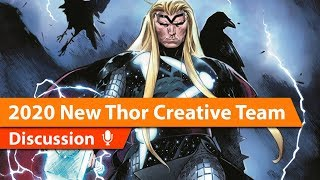 Donny Cates Takes Over Thor for Marvel