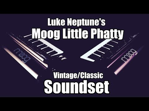 Moog Little Phatty- Vintage/Classic Soundset by Luke Neptune OUT NOW!