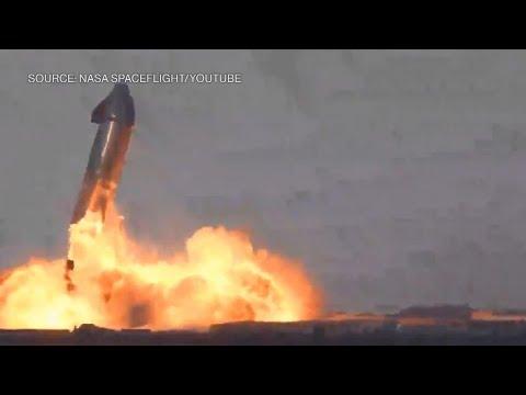 SpaceX-Biggest-Rocket-Pulls-Off-Landing-Then-Explodes