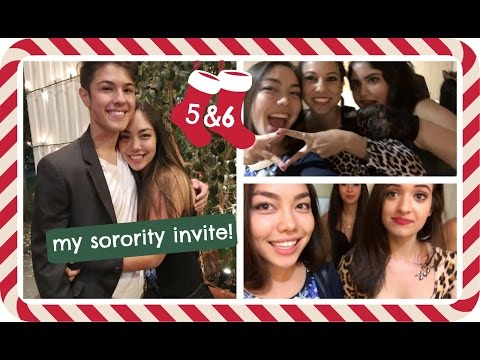 MY SORORITY INVITE & exploring Beverly Hills with Rish | Vlogmas Day 5 & 6