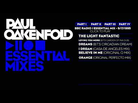 Paul Oakenfold Essential Mix: September 17, 1995 Part 1