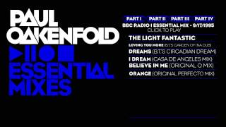 Paul Oakenfold Essential Mix: September 17, 1995 Part 1
