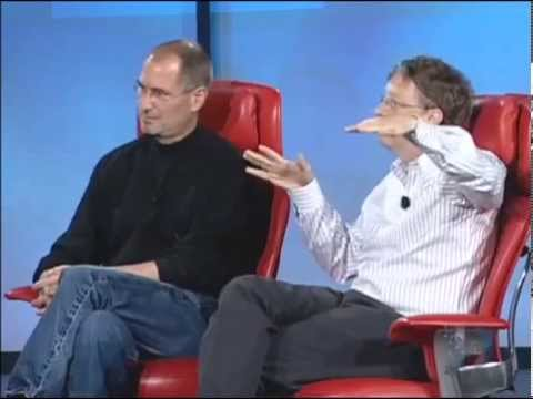 Steve Jobs and Bill Gates Interview (Full Video)