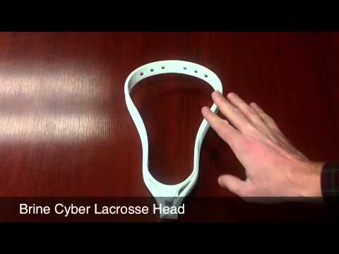2014 Brine Cyber X Lacrosse Head - Preorder Now @ SportStop.com