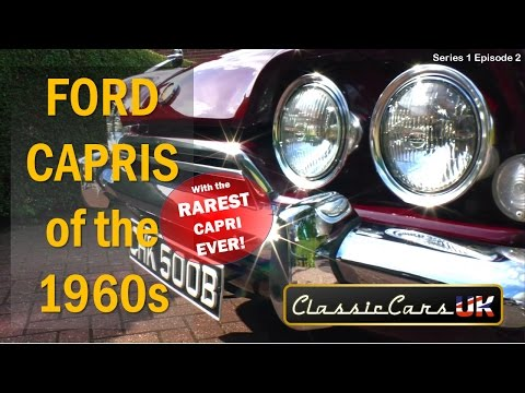 Classic Cars UK Series 01 Episode 02: 60s Ford Consul Capris