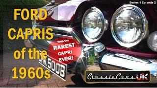 Classic Cars UK Series 01 Episode 02: 60s Ford Consul Capris