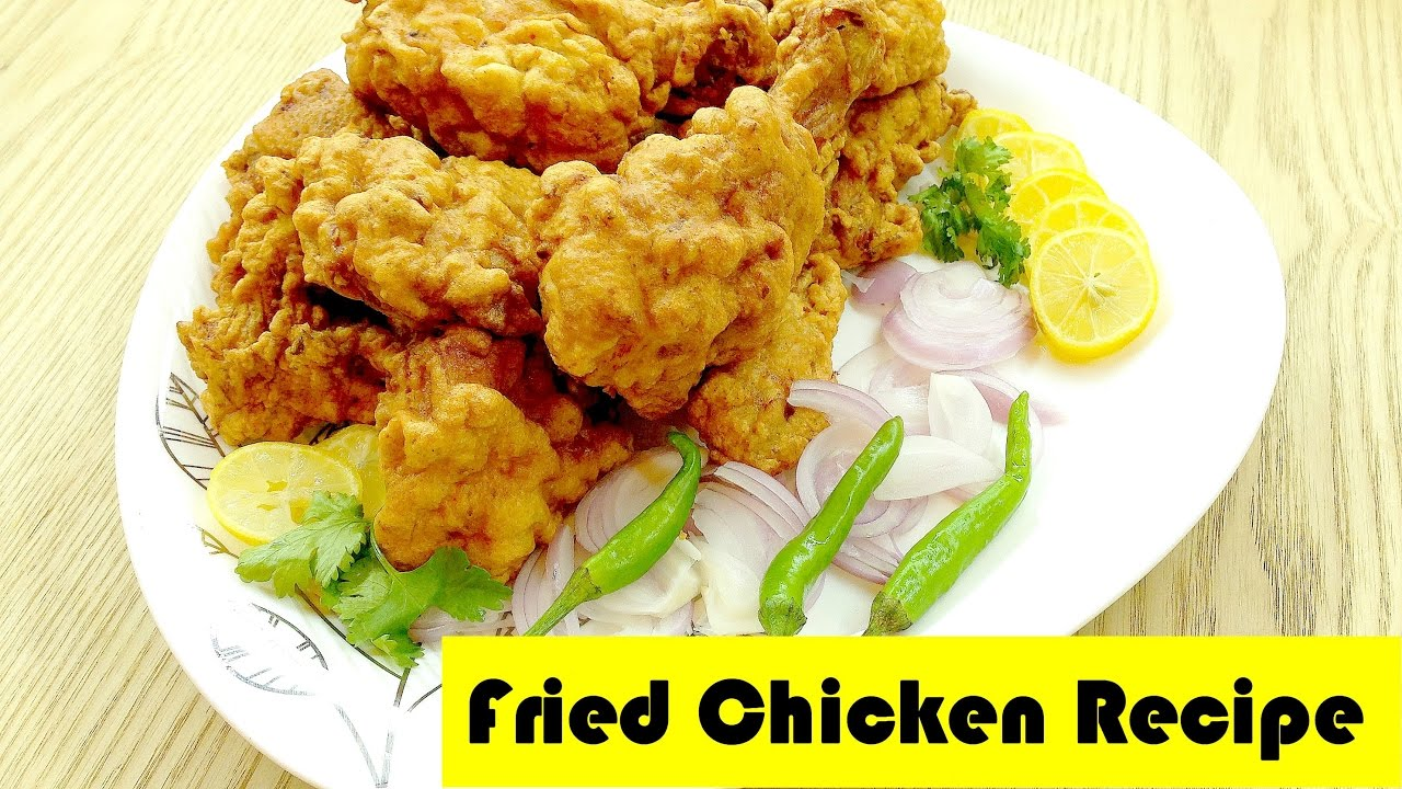 Fried Chicken Recipe, step by step instructions , Ramazan special recipe by  Hams kitchen