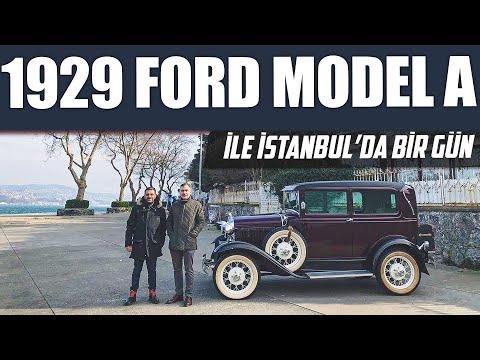 Doğan Kabak   1929 Ford Model A ile İstanbul'da Bir Gün