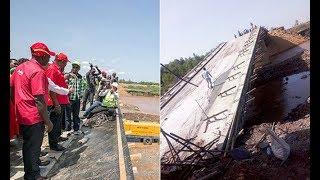 Sigiri Bridge, Jubilee flagship project collapses