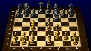 Power Chess 98 Morphy Opera Game