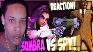 - I SPY WITH MY LITTLE EYE SOMBRA VS SPY RAP BATTLE REACTION