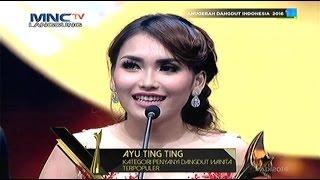 """Pemenang Penyanyi Dangdut Wanita Terpopuler : """"Ayu Ting Ting"""" Anugerah Dangdut Indonesia 2016"""