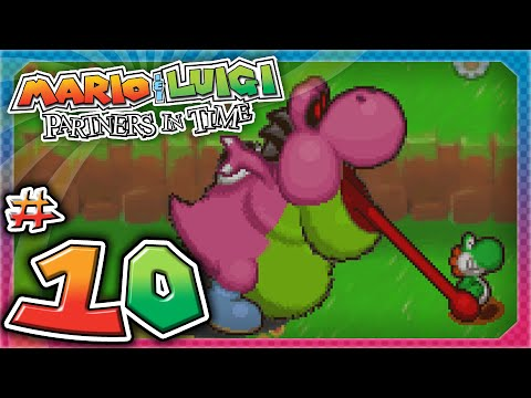 Mario and Luigi: Partners In Time - Part 10: Yoshi