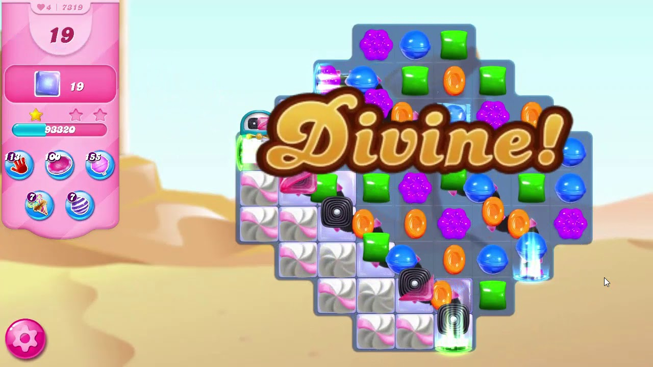 Download Candy Crush Saga LEVEL 7319 NO BOOSTERS