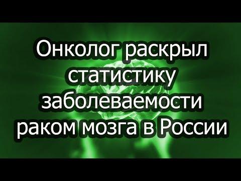 Онколог раскрыл статистику заболеваемости раком мозга в России