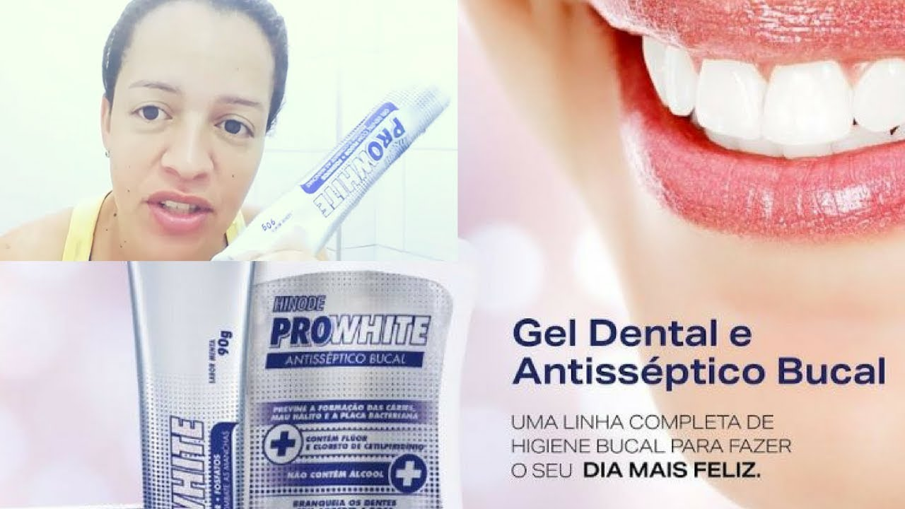 Creme Dental Dentes Brancos Com Pro White Hinode Maratona 141 De