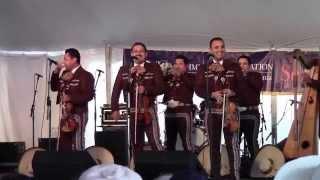 Mariachi los Camperos, Richmond Folk Festival 2014 #3 - Popurri