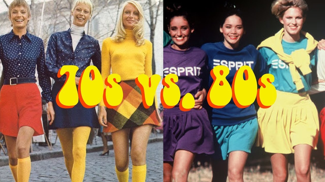 70s Vs 80s Style Youtube