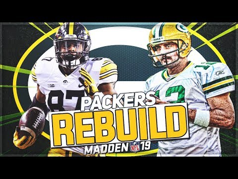 Rebuilding The Green Bay Packers | Noah Fant Becomes A Legend | Madden 19 Franchise Mode