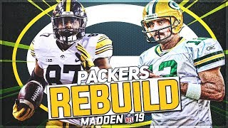 Rebuilding The Green Bay Packers   Noah Fant Becomes A Legend   Madden 19 Franchise Mode