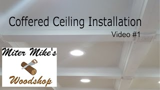 coffered ceiling series video 1