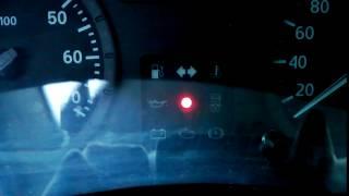 сигнальная лампа системы блокировки пуска двигателя Рено Логан 1,4
