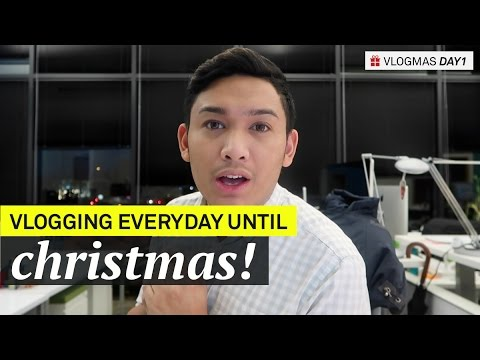 Vlogging Everyday Until Christmas! - VLOGMAS 2016 Day 1 - ohitsROME
