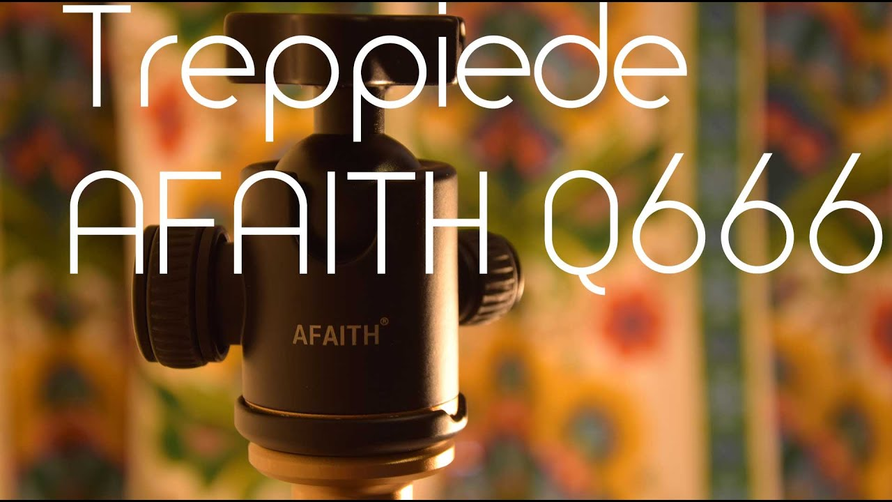 Treppiede Afaith Q666 In Magnesio Con Modulo Monopiede Youtube Tripod Beike Qzsd 02