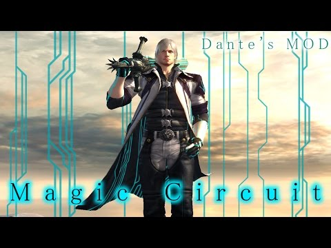 【DMC4SE】 Magic Circuit Showcase 【Dante MOD】