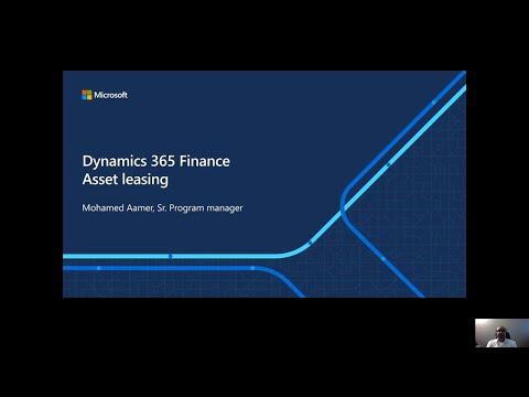 Microsoft Dynamics 365 Finance: Asset Leasing  | OD247