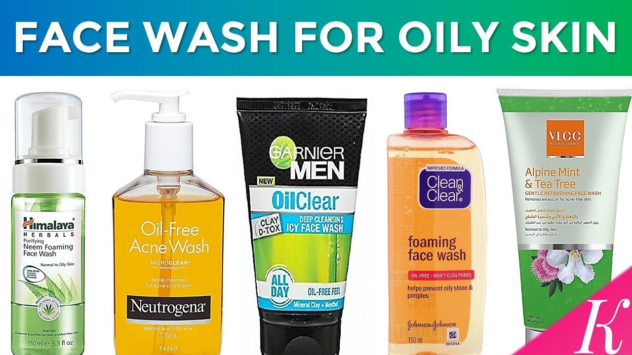 10 Best Face Wash For Oily Skin Acne Prone Skin In India With Price Youtube