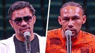 Manny Pacquiao vs. Keith Thurman FULL POST FIGHT PRESS CONFERENCE   Fox PBC Boxing