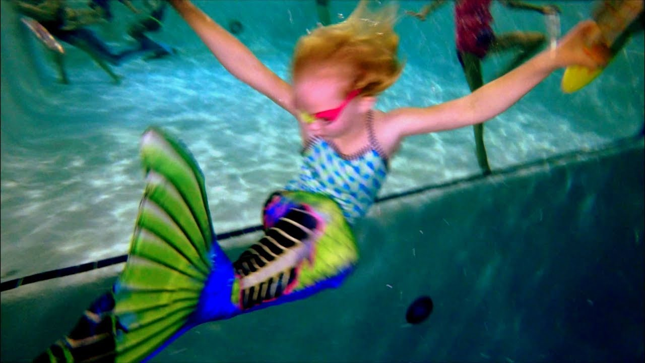 Swimming in 18 feet scuba pool with my mermaid tail youtube - Swimming swimming in my swimming pool lyrics ...