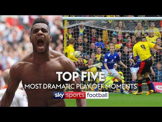 Top Five Most DRAMATIC Play-Off Moments Ever! 😱