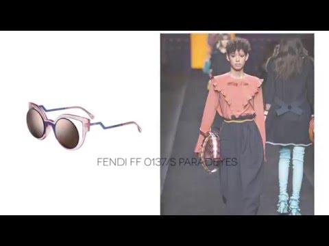 FENDI 2016/2017 Autumn/Winter MILAN Fashion Week Eyewear Trends   SmartBuyGlasses