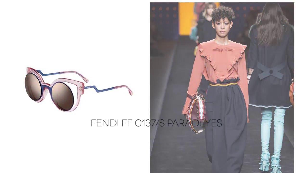 2bb59c4fdf3 FENDI 2016 2017 Autumn Winter MILAN Fashion Week Eyewear Trends ...