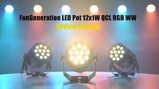Thomann - Fun Generation LED Pot 12x1W QCL RGB WW Review German
