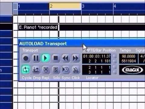 MAGIX Music Studio 2005 Deluxe--Midi Studio