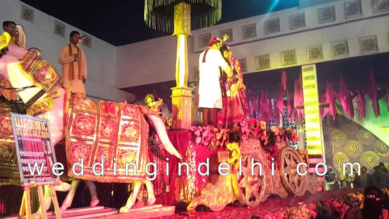 & weddingindelhi.com Rath Theme at Kohli Tents - YouTube