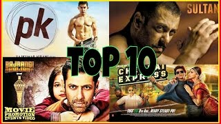SULTAN 3rd in the list of TOP 10 HIGHEST grossing BOLLYWOOD movies of ALL TIME!! Who's 1st then??