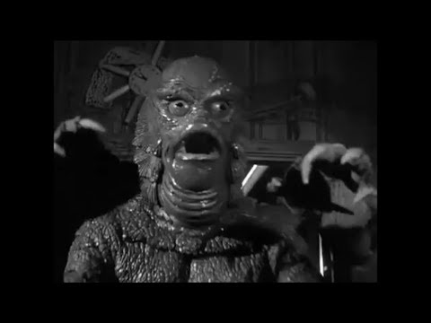 """Download Cringey Wire Effect in """"Revenge of the Creature"""" (1955)"""